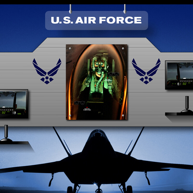 US Air Force Pentagon Display