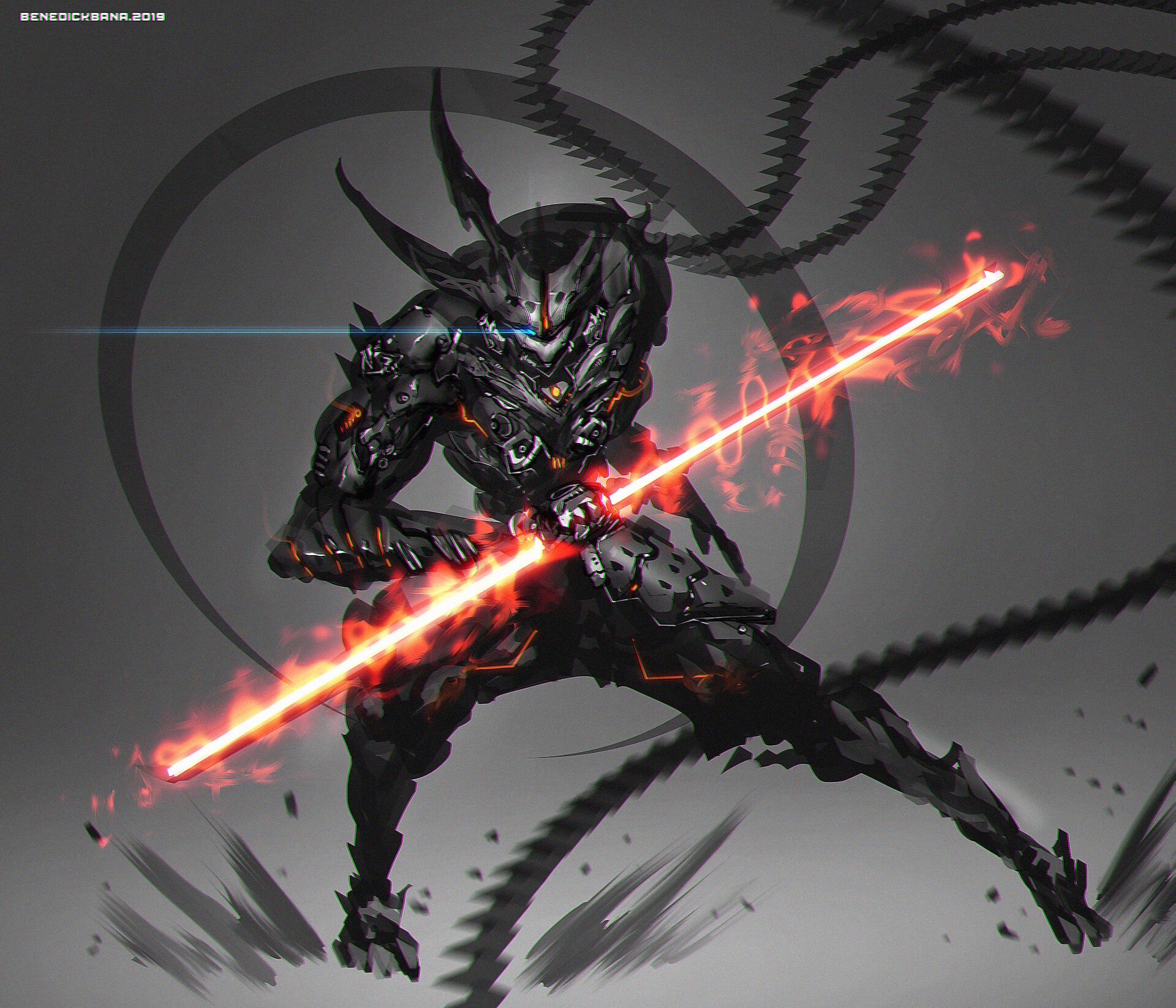 character design - War Deity.  SOBEK