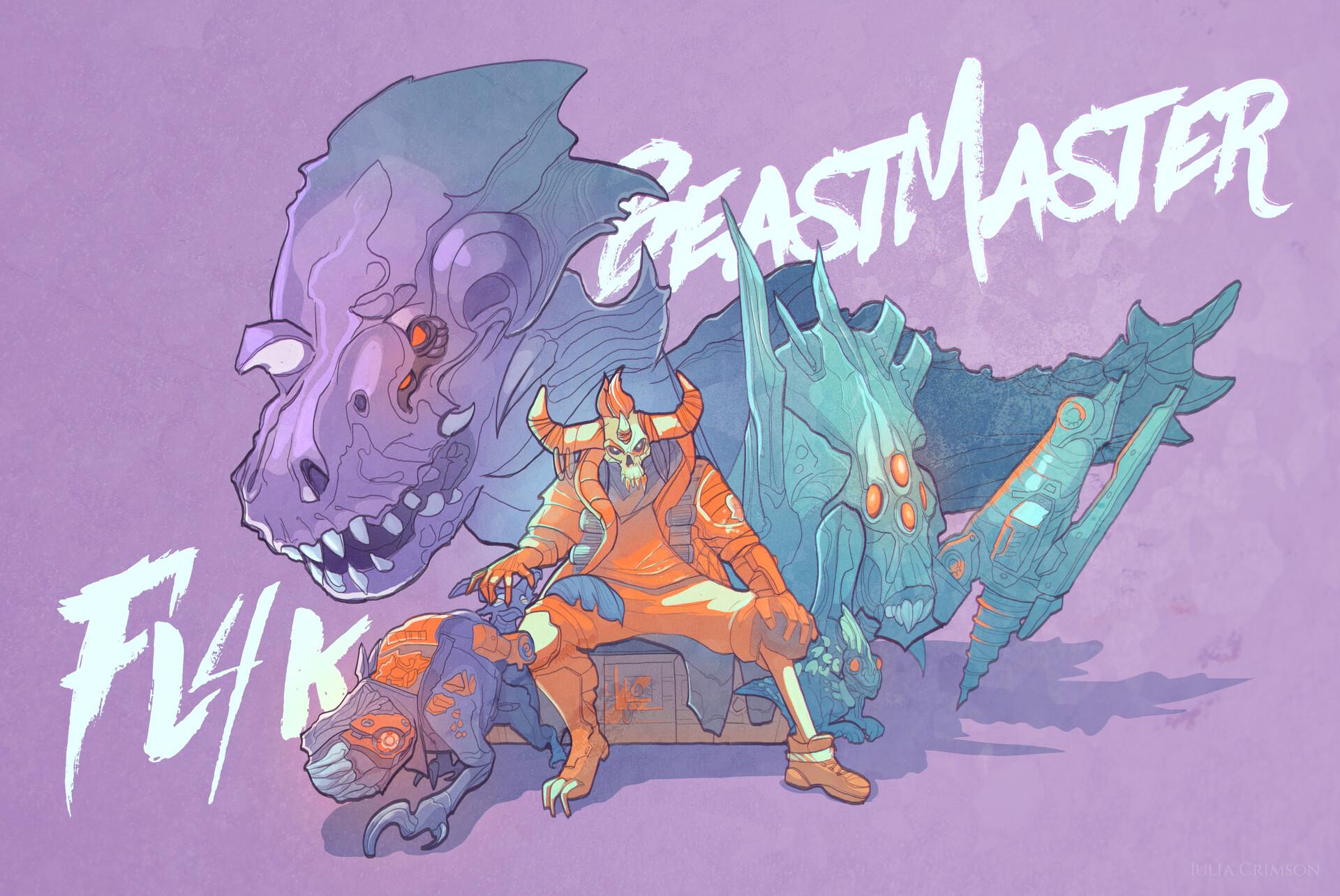 Robotic BeastMaster Fl4k