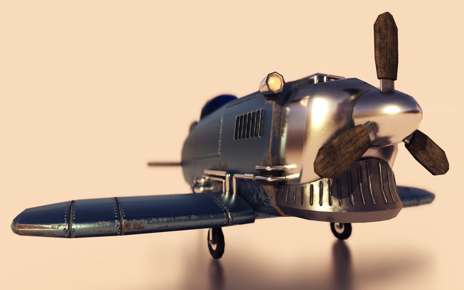 diesel Aeroplane render