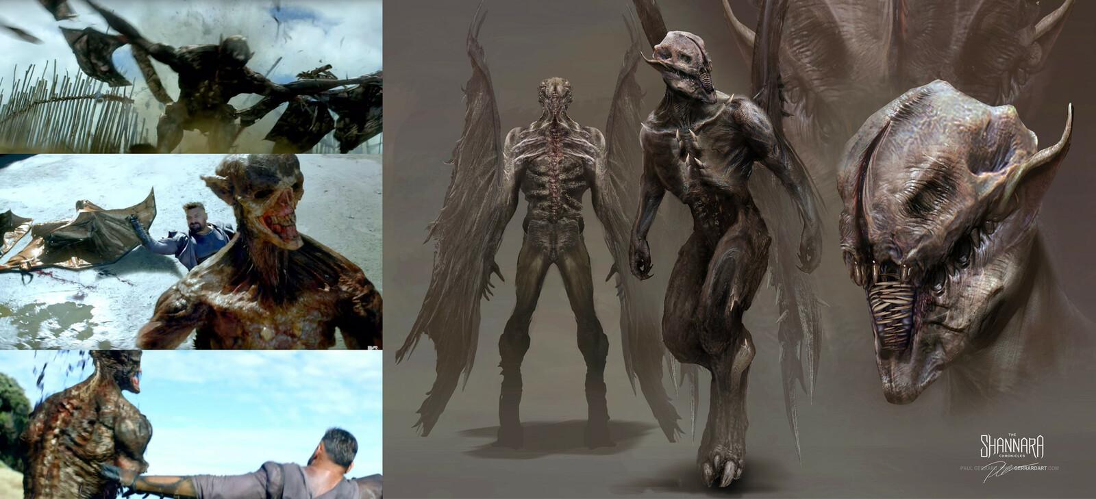 Wraith from Shannara Season 1
