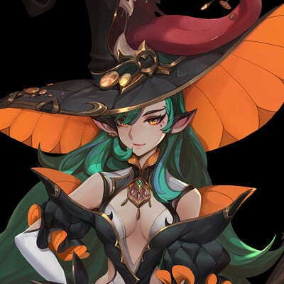Steve zheng candy witch