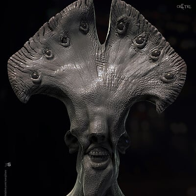 Surajit sen cretr1 digital sculpture surajitsen oct2019