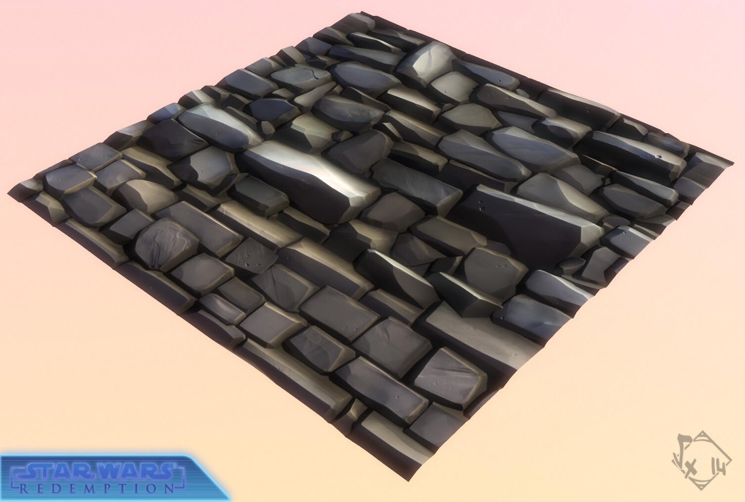 Wall bricks tile