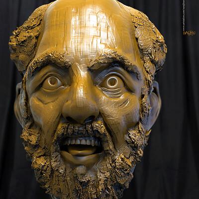 Surajit sen dashu 1 digital sculpture surajitsen oct2019