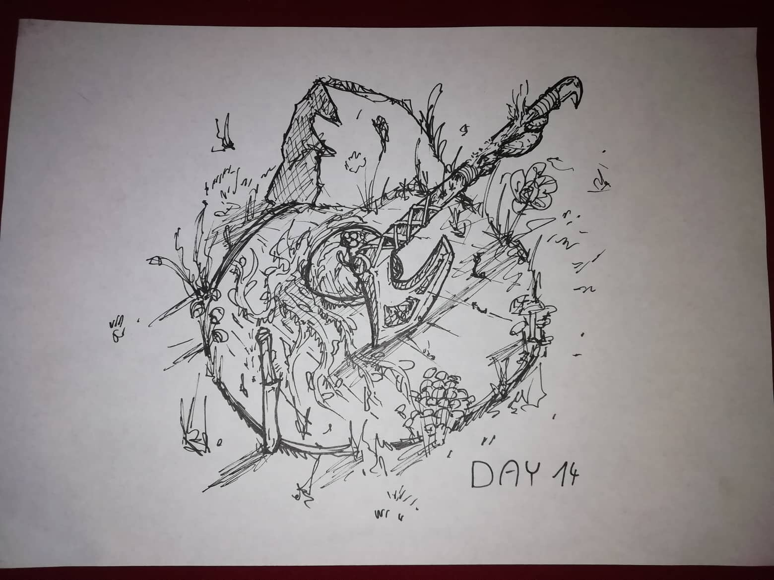 Day 14 - Overgrown