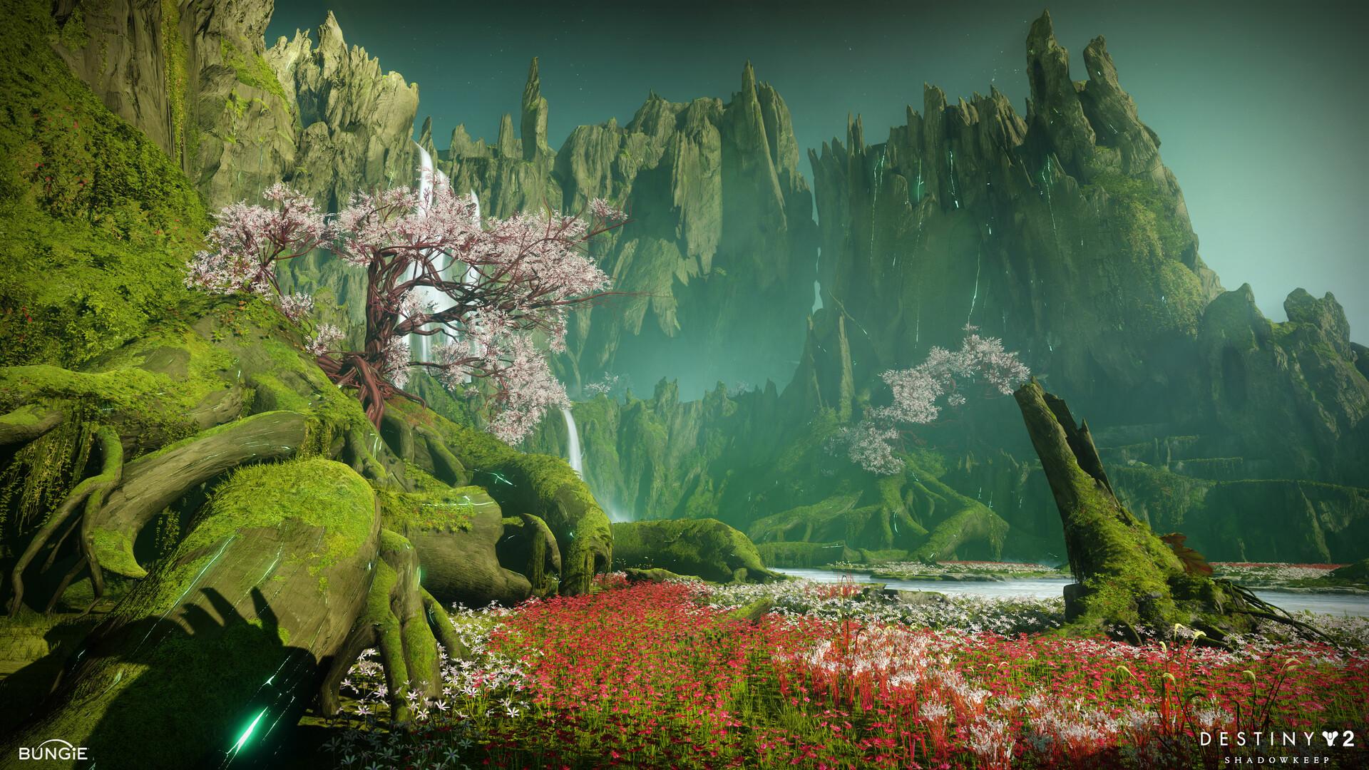 Artstation Destiny 2 Shadowkeep Garden Of Salvation Raid Kevin