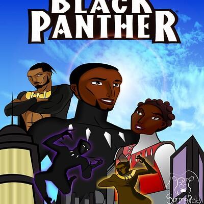 Larry springfield black panther by larryspring96 dcrkr9v