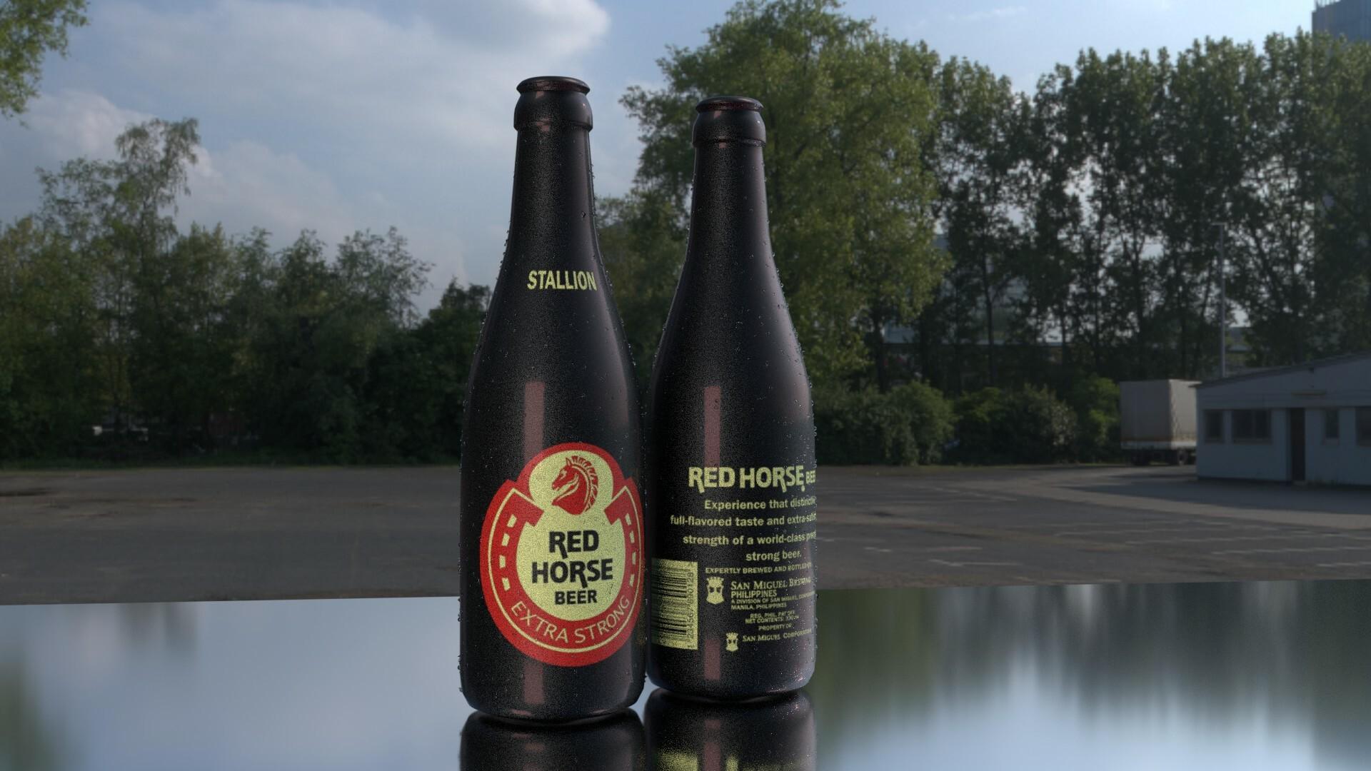 Artstation Red Horse Beer 330ml Lojrd Joeseph Dorado