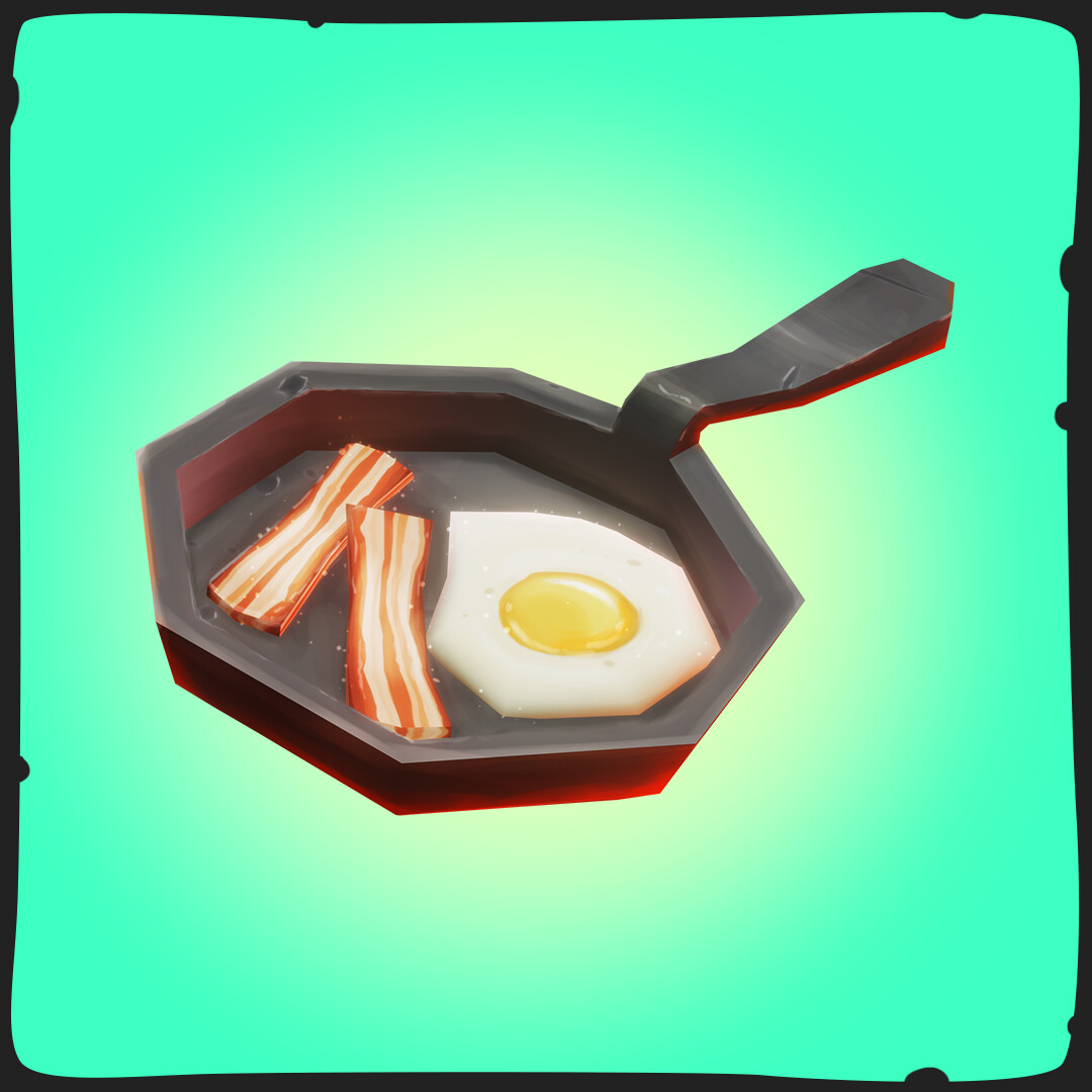 Bacon and eggs - FANTASTIC  Food Pack