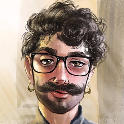 Arsalan khan self portrait