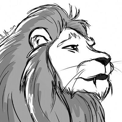 Arsalan khan lion