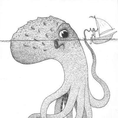 Clinton jones friendly octopus small