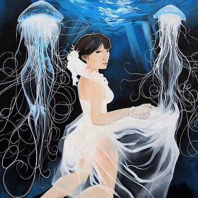 Afromation art jellyfish2