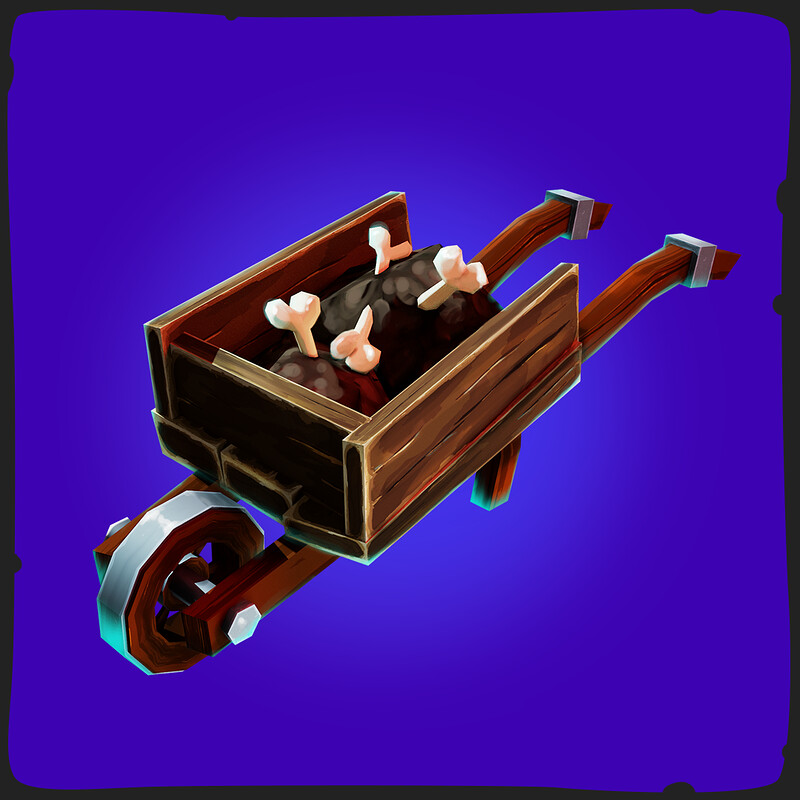 Wheelbarrow - FANTASTIC Halloween Pack