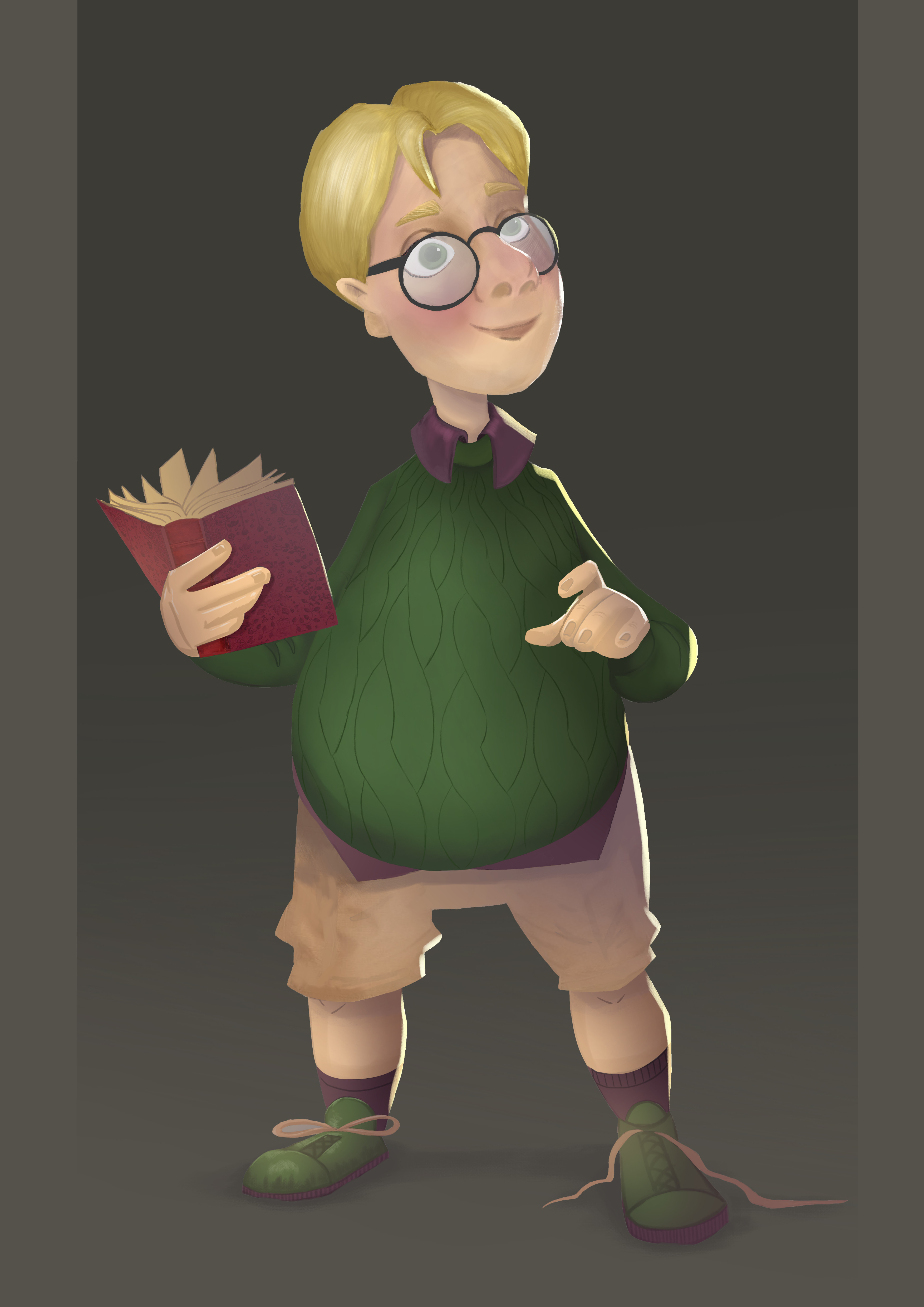 character painting