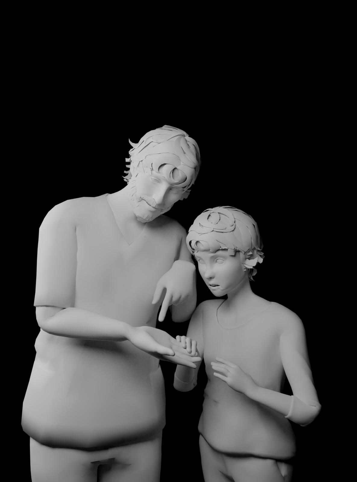 St. Joseph, 3D  reference models
