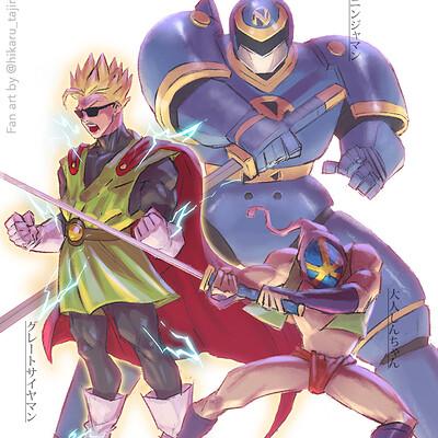 Hikaru tajima shinchan greatsaiyaman ninjaman