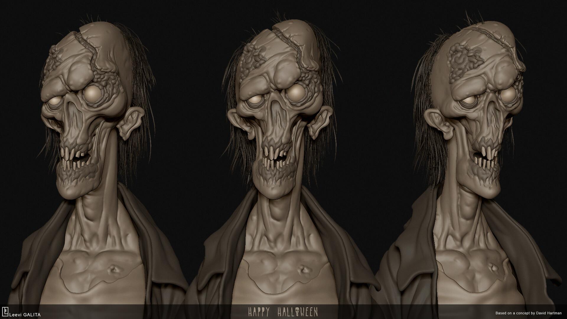 Leevi galita zombiesculpt