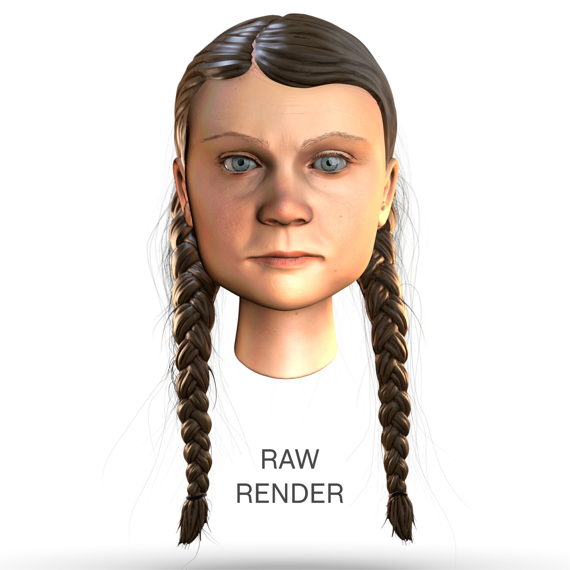 Paul marion wood raw render