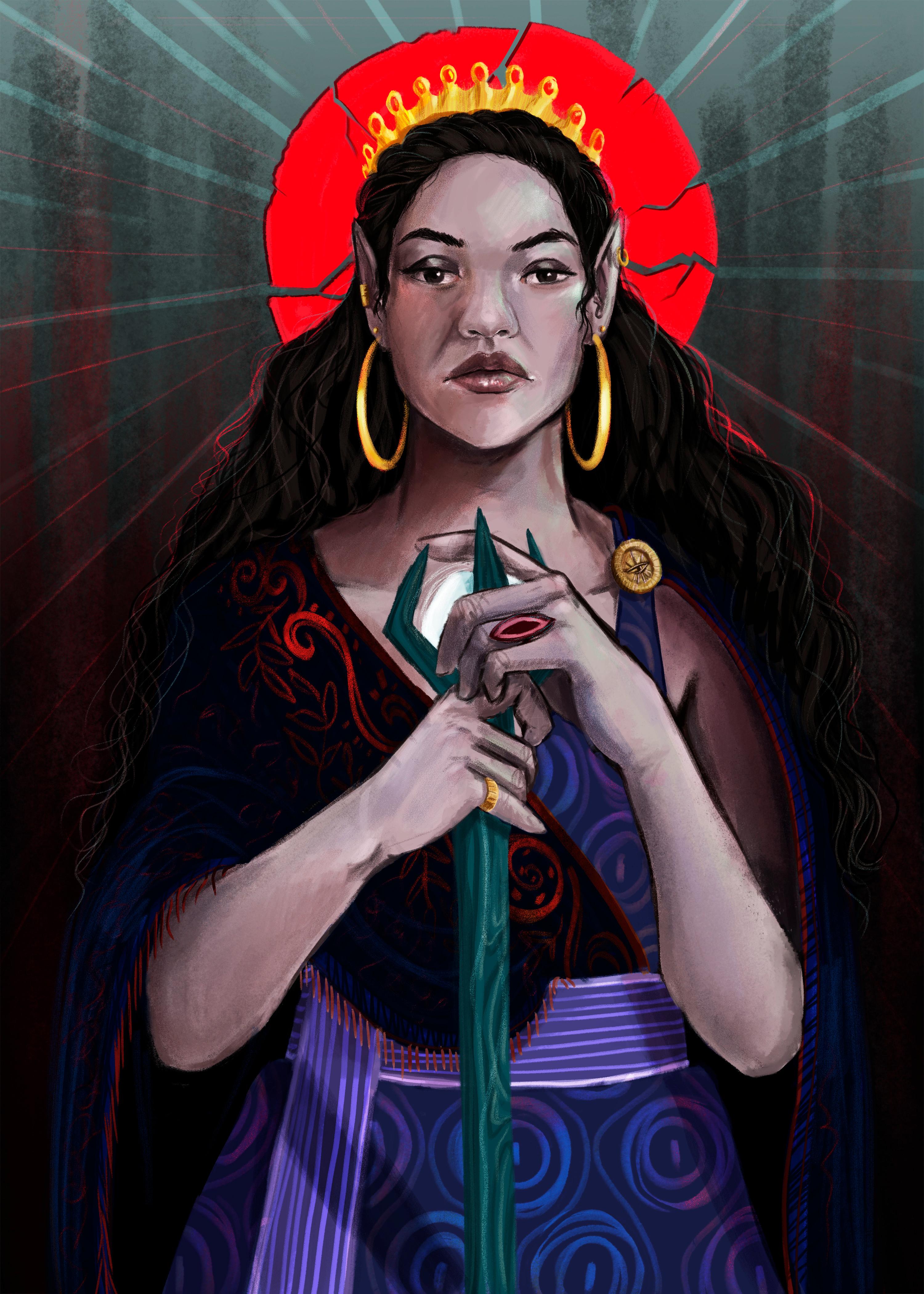 Queen Yurona's Character Portrait