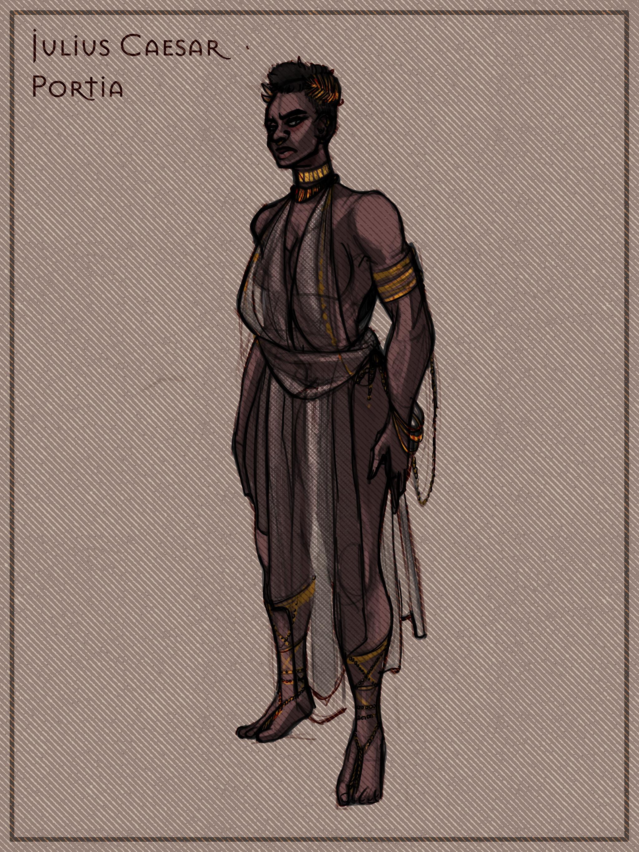 Portia, Brutus's wife