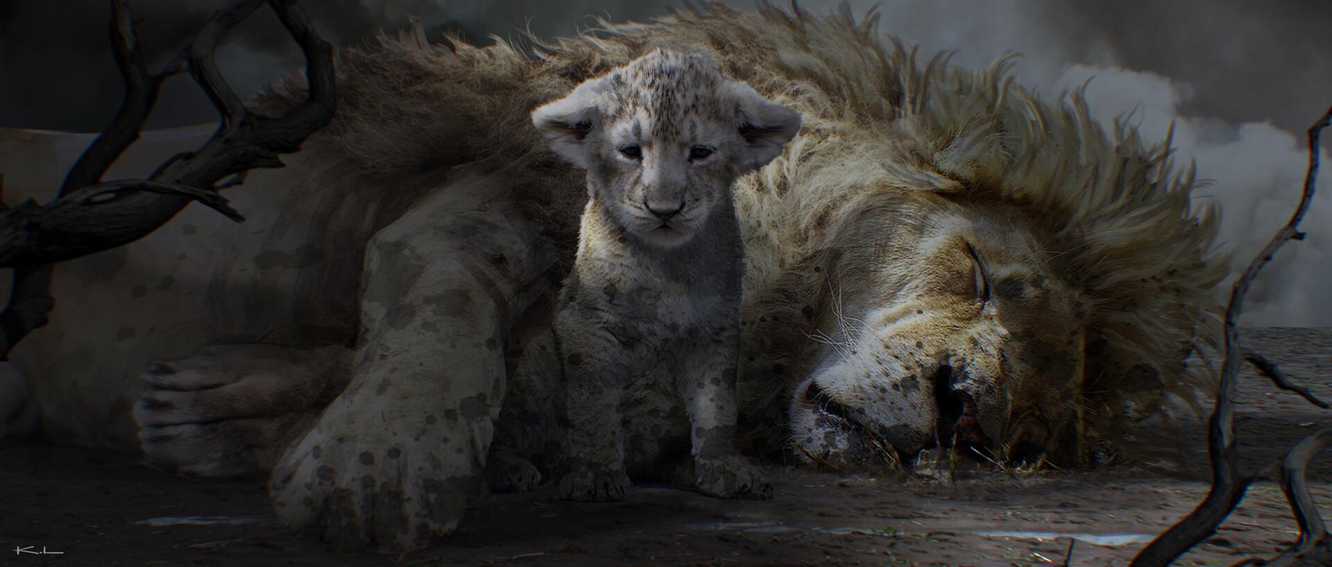 Artstation The Lion King 2019 Disney Karl Lindberg