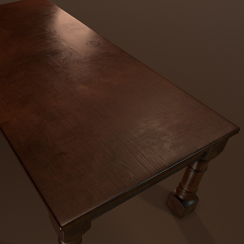 Couch Table (Part of Horror Living Room Asset Pack - WIP)