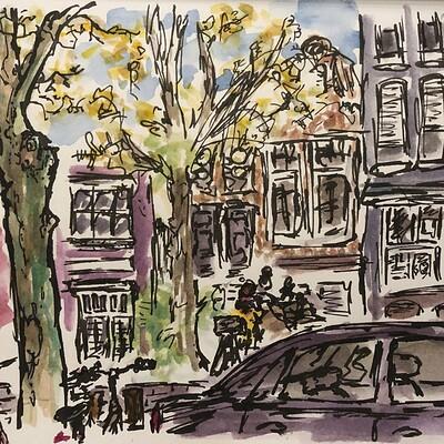 Daniel oakley urban sketching 1