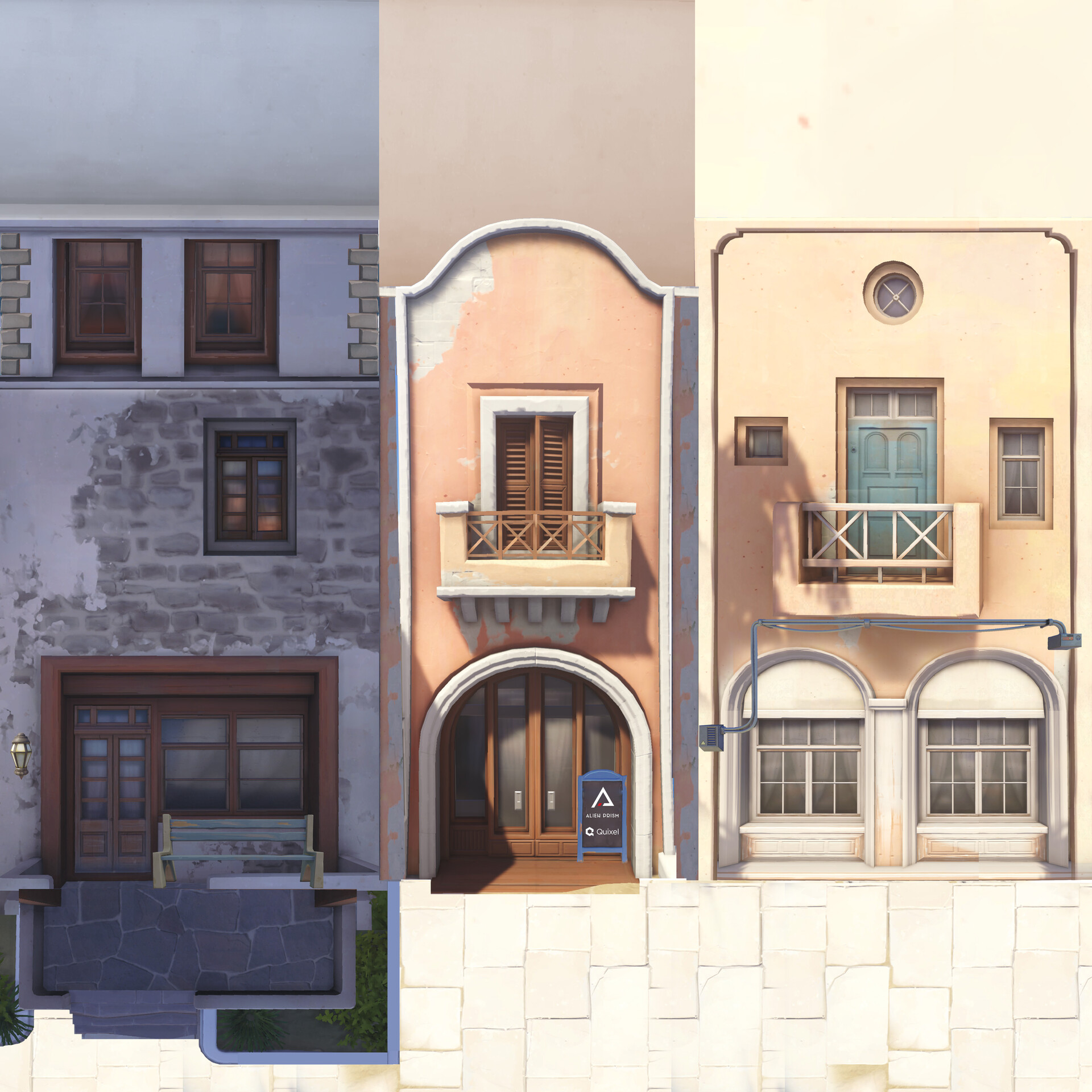 Material Reference. Combined from many game screenshots of Ilios Map