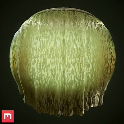 [Quixel Mixer] Curtains Material Mix