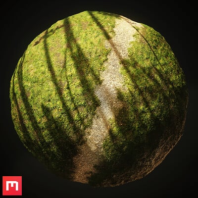[Quixel Mixer] Grass Trail Material Mix