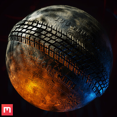 [Quixel Mixer] Tire Material Mix
