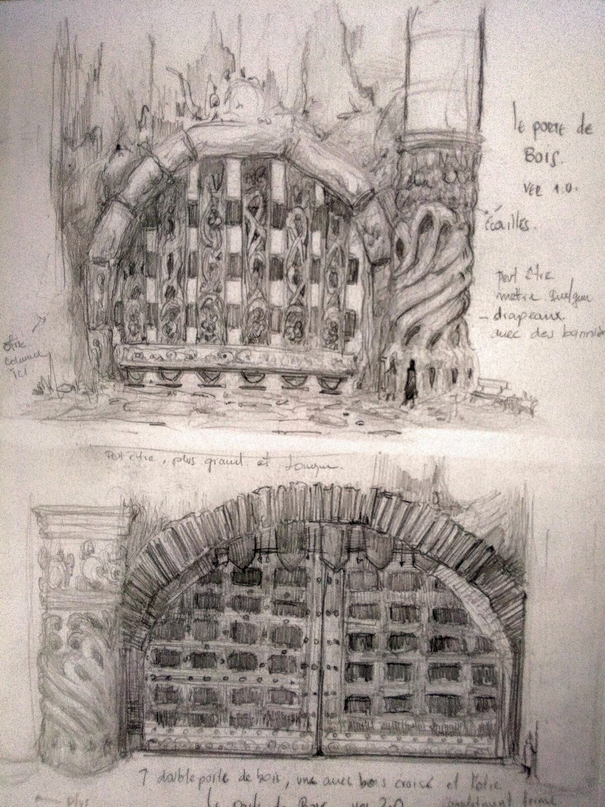 Gate variation 1