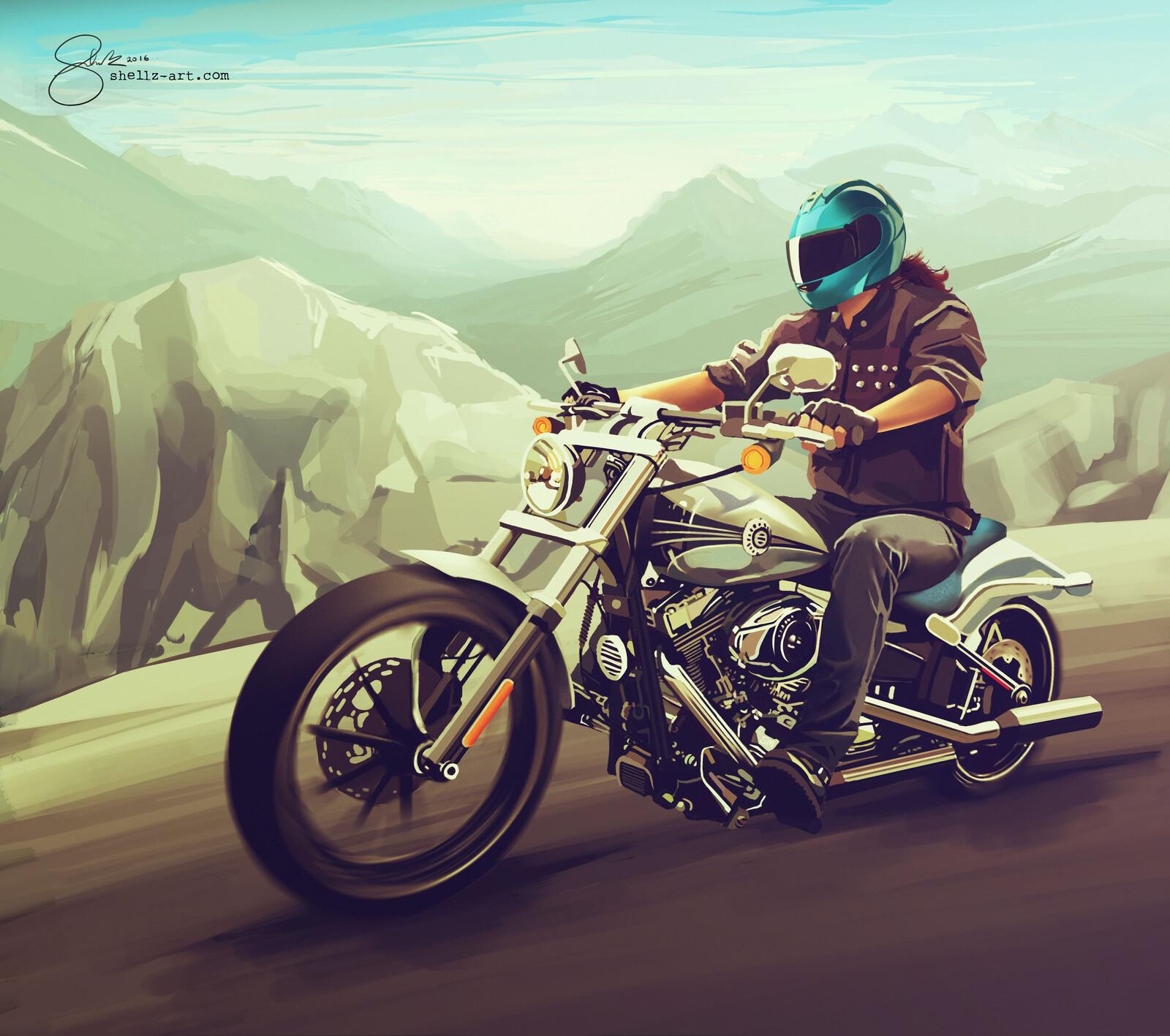 Charles Wilson - Harley Davidson