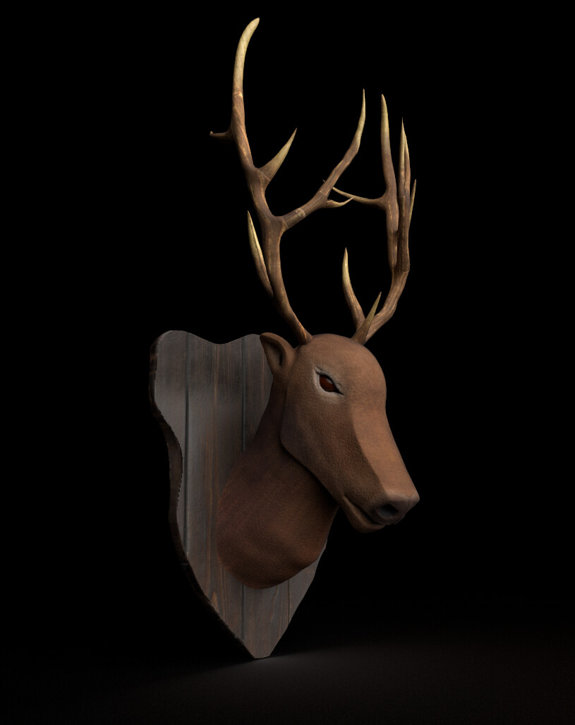 Game Pops • Wall Mounted Elk Head