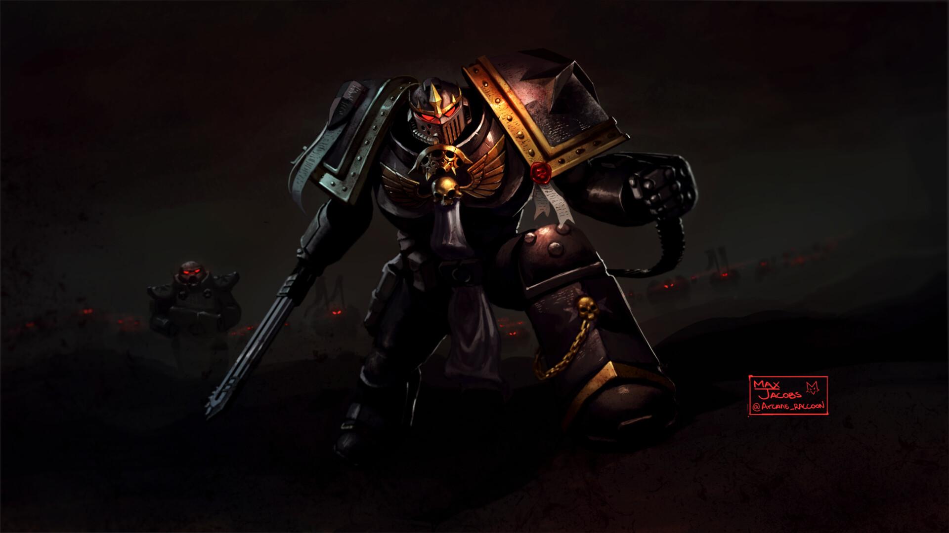 Max Jacobs Black Templar Army Warhammer 40 000