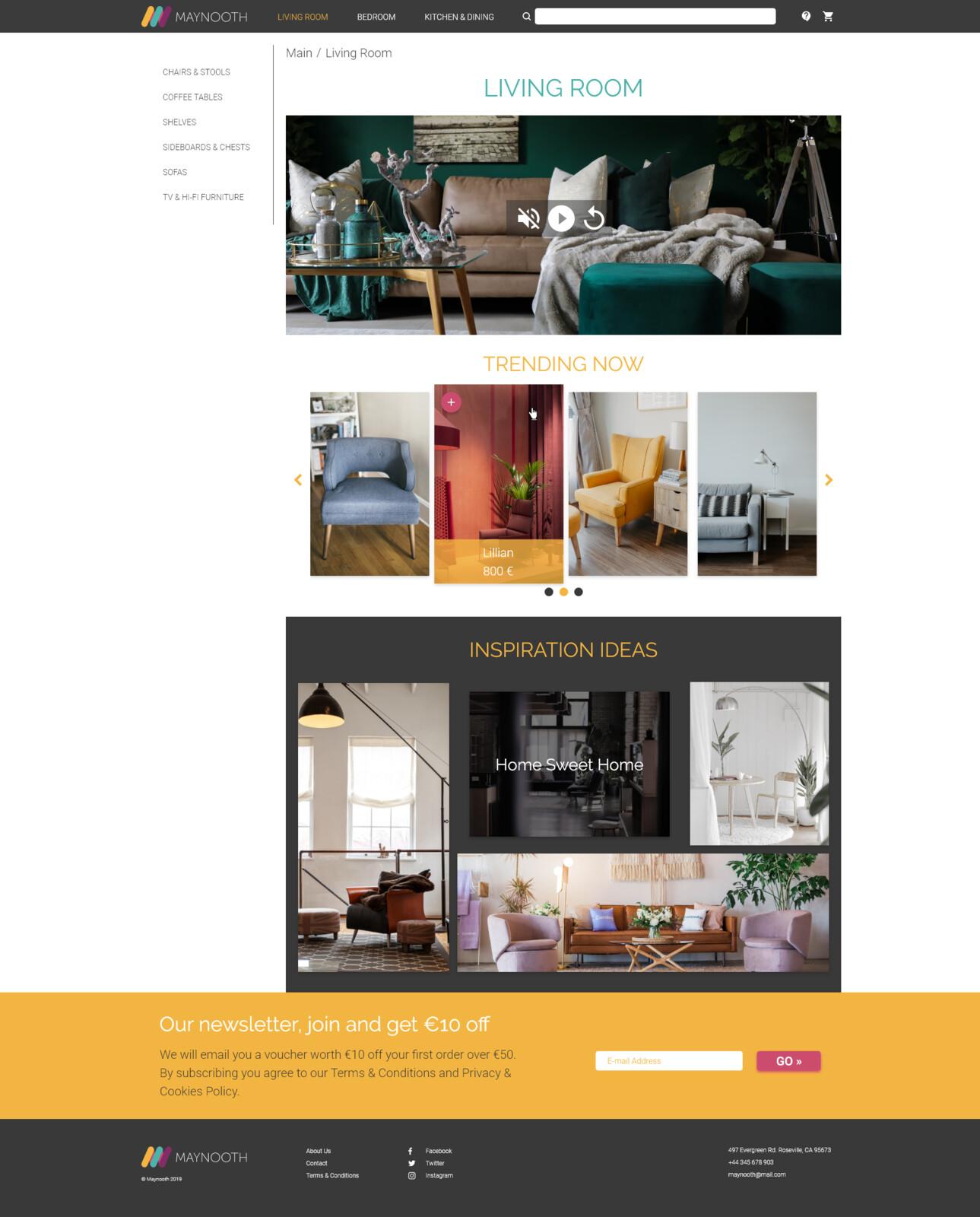 Living Room category