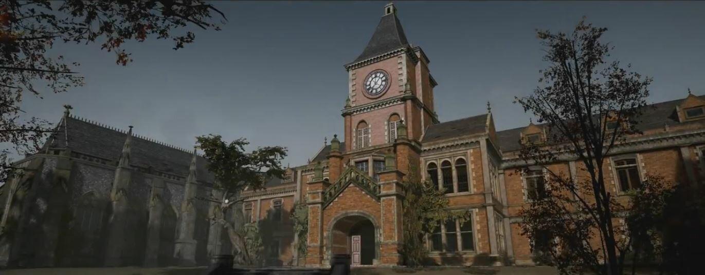 Déraciné - Schoolhouse Exterior