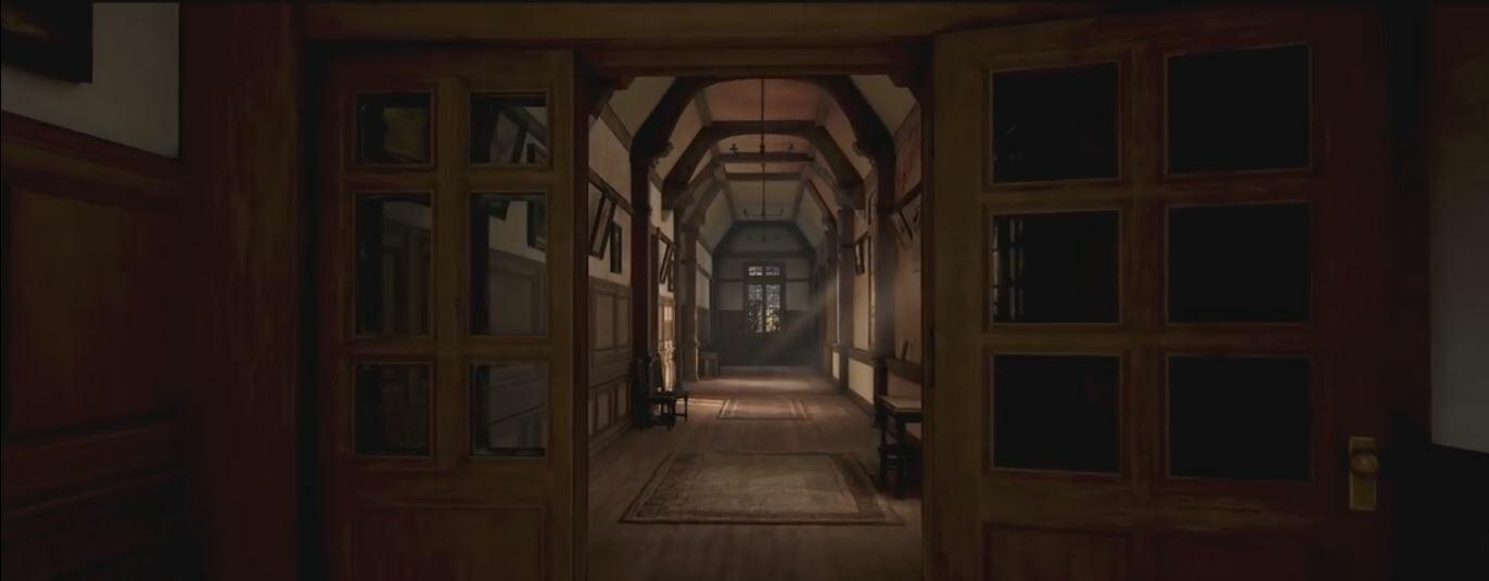 Déraciné - Schoolhouse Hallways