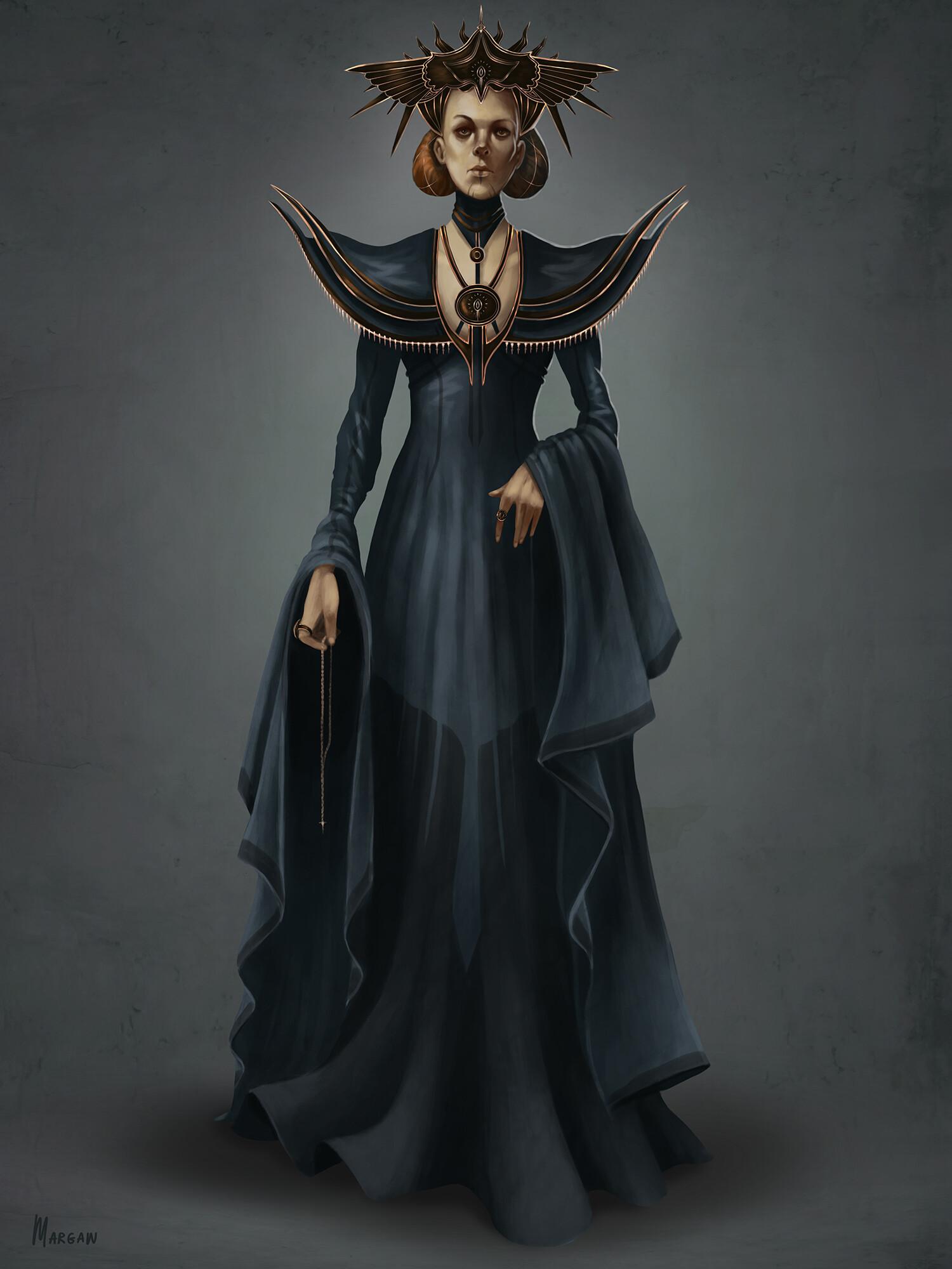 Margarita bourkova 201910 queen character concept