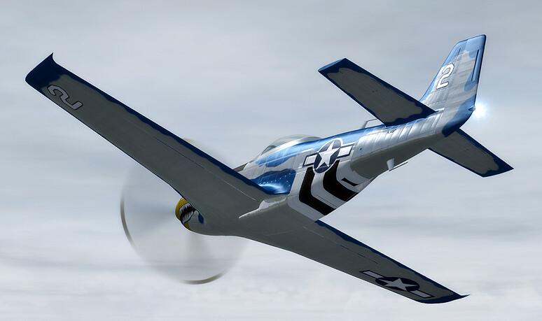 FSX: Acceleration (2007) - Reno Air Racing P-51