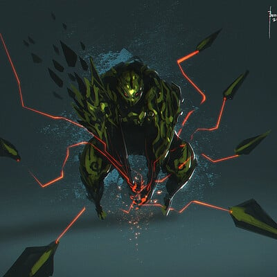 Benedick bana death touch lores