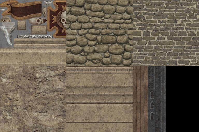 Empire Gatehouse - Various Textures (512x512s)