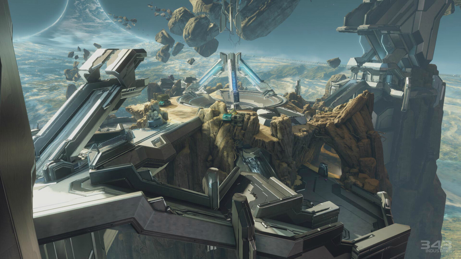 Zenith - Various Forerunner structures, terrain, Material set up