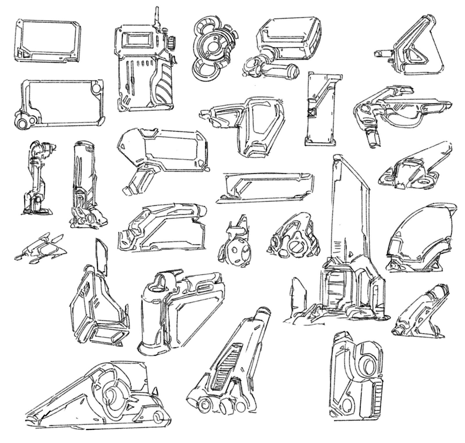Scifi Sketches