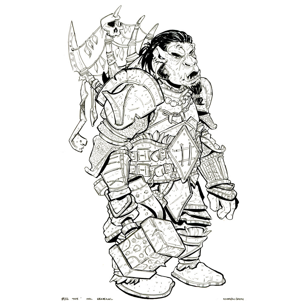 Day 22: The Orc General