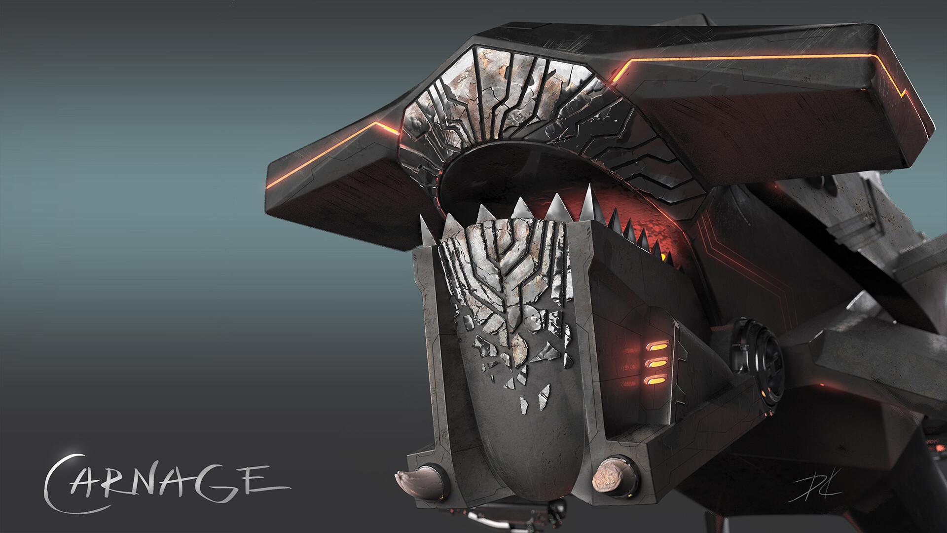 Carnage 2D concept
