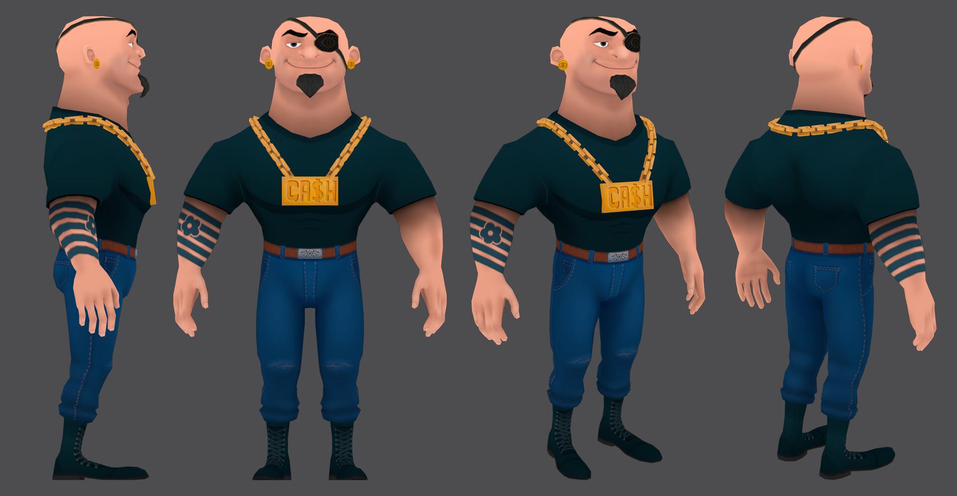 Paul foster jailbird costume01