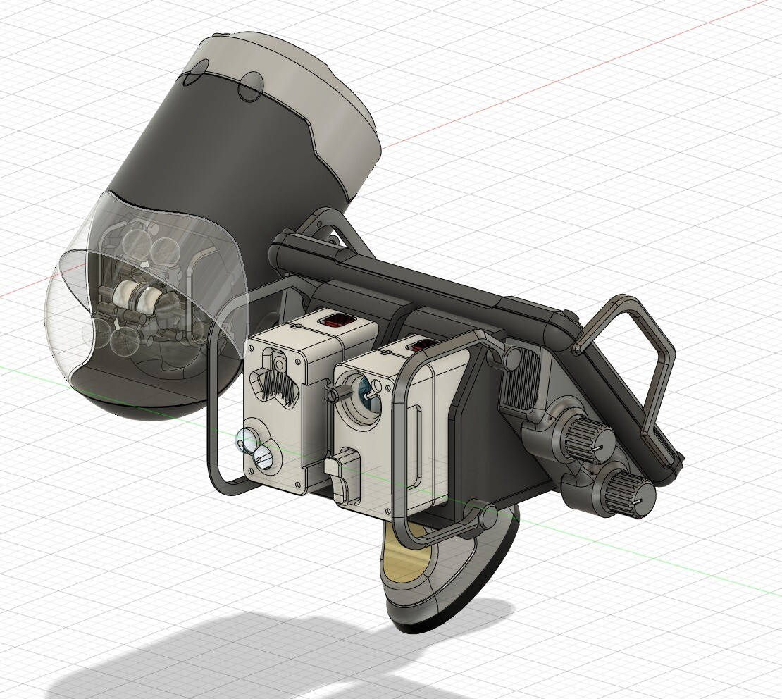 screenshot from Fusion 360